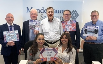 "Team Mandelbaum says Thank You to our troops with the ""Say Thank You Selfie"" Challenge"