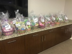 Team Mandelbaum's 1st Annual Easter Basket Drive Gives Back to Eva's Village