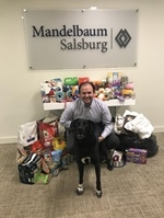 Team Mandelbaum Donates to Tri-Boro Animal Welfare