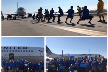 Team Mandelbaum Raises over $11,500 for Special Plane Pull